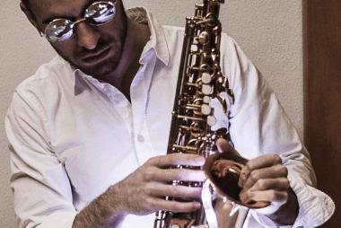 DJ und Saxophonist Club/Show